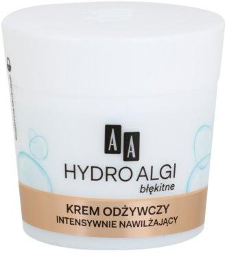 AA Cosmetics Hydro Algae Blue výživný a hydratační krém pro dokonalou pleť