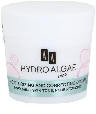 AA Cosmetics Hydro Algae Pink Crema matifianta hidrateaza pielea si inchide porii