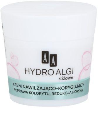 AA Cosmetics Hydro Algae Pink hidratáló krém a bőr kisimításáért és a pórusok minimalizásáért