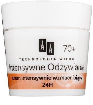 AA Cosmetics Age Technology Intensive Nutrition stärkende Creme zur Reduktion von Falten 70+