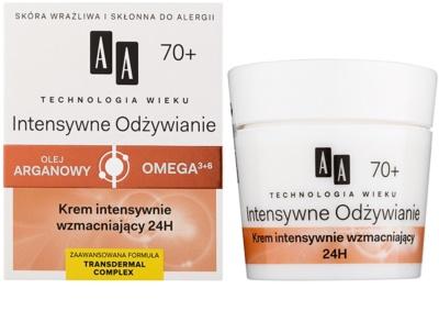 AA Cosmetics Age Technology Intensive Nutrition posilující krém na redukci vrásek 70+ 1