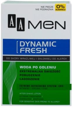 AA Cosmetics Men Dynamic Fresh aftershave racoritor fara alcool 2