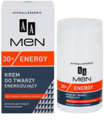 AA Cosmetics Men Energy 30+ creme facial hidratante contra os primeiros sinais de envelhecimento 2