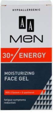 AA Cosmetics Men Energy 30+ feuchtigkeitsspendendes Gesichtsgel mit erfrischender Wirkung 3