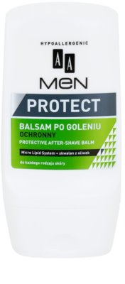 AA Cosmetics Men Protect bálsamo protetor after shave