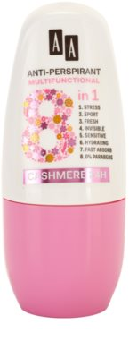 AA Cosmetics Multifunctional Cashmere 24H roll-on antibacteriano 8 em 1