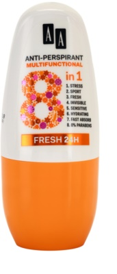 AA Cosmetics Multifunctional Fresh 24H golyós dezodor roll-on 8 in 1