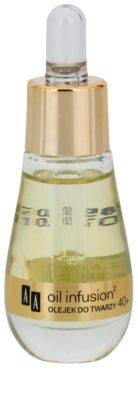 AA Cosmetics Oil Infusion2 Argan Tsubaki 40+ Gesichtsöl für intensives Nähren und Geschmeidigkeit