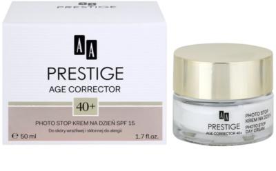 AA Prestige Age Corrector 40+ schützende Creme gegen Hautalterung SPF 15 2