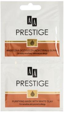 AA Prestige Age Corrector 40+ masca de curatare pentru reducerea sebumului si minimalizarea porilor