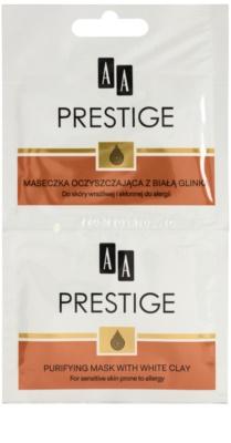 AA Prestige Age Corrector 40+ pórusösszehúzó tisztító arcmaszk a túlzott faggyú termelődés ellen