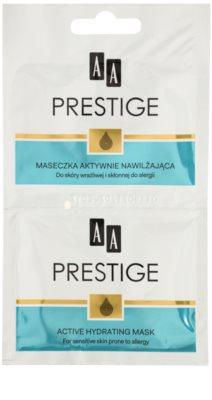 AA Prestige Algae Infusion активна хидратираща маска