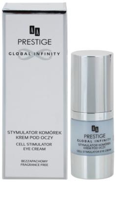 AA Prestige Global Infinity крем для шкіри навколо очей для відновлення пружності шкіри 2