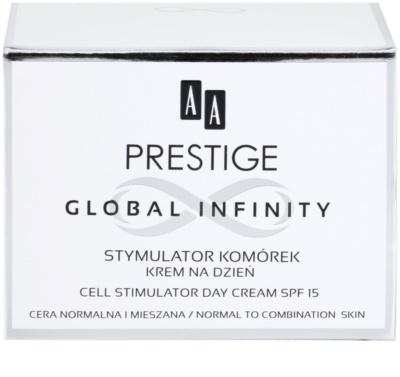 AA Prestige Global Infinity crema stimulatoare si restaurativa de zi SPF 15 3