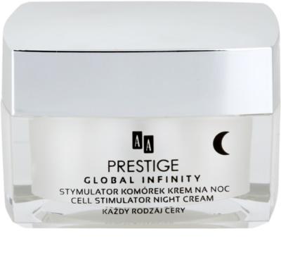 AA Prestige Global Infinity crema de noapte impotriva imbatrinirii premature al pielii