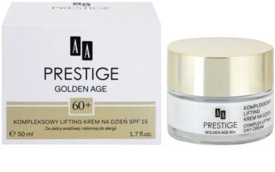 AA Prestige Golden Age 60+ intenzív lifting krém SPF 15 2