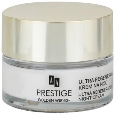 AA Prestige Golden Age 60+ intenzív éjszakai krém regeneráló hatással