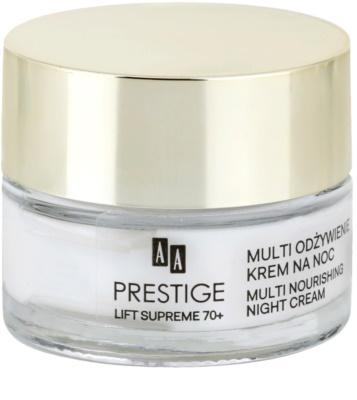 AA Prestige Lift Supreme 70+ creme de noite altamente nutritivo