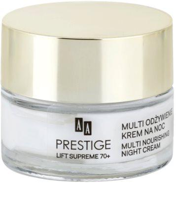 AA Prestige Lift Supreme 70+ mélytápláló éjszakai krém