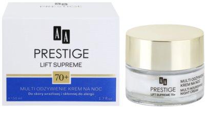 AA Prestige Lift Supreme 70+ intensiv nährende Nachtcreme 2