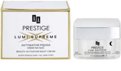 AA Prestige Lumi Supreme noční aktivní krém pro zkrášlení pleti 2