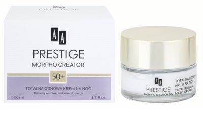 AA Prestige Morpho Creator 50+ нічний інтенсивний крем для відновлення пружності шкіри 2