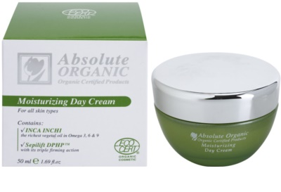 Absolute Organic Face Care hydratisierende Tagescreme 1