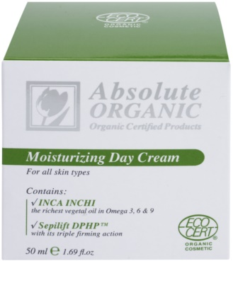 Absolute Organic Face Care hydratisierende Tagescreme 2