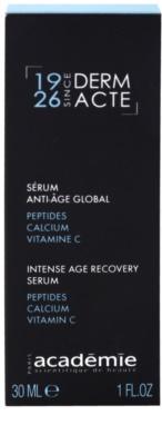 Academie Derm Acte Intense Age Recovery інтенсивна відновлююча сироватка для відновлення пружності шкіри 2