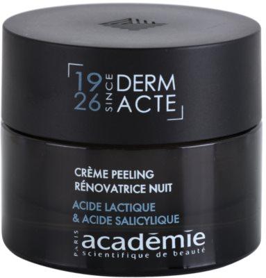 Academie Age Recovery crema de noapte pentru contur cu efect exfoliant