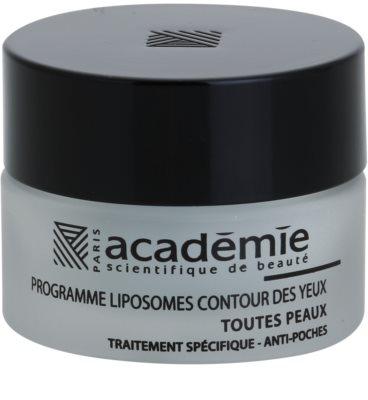 Academie All Skin Types розгладжуючий гель для шкіри навколо очей проти набряків