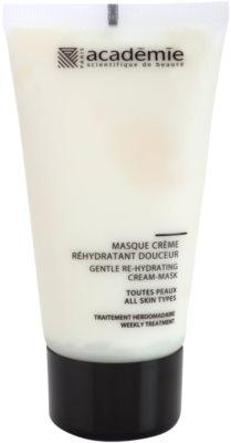 Academie All Skin Types sanfte Creme-Maske mit feuchtigkeitsspendender Wirkung