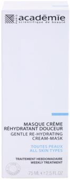 Academie All Skin Types masca cremoasa delicata cu efect de hidratare 2