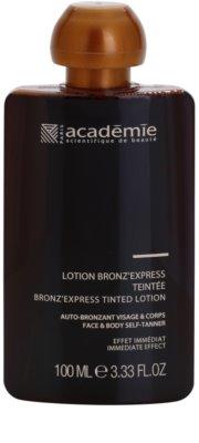 Academie Bronz' Express tónovací tónikum na obličej a tělo