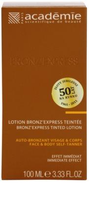 Academie Bronz' Express tónico com cor para rosto e corpo 2