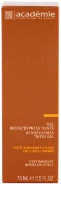 Academie Bronz' Express Bräunungsgel für das Gesicht 2