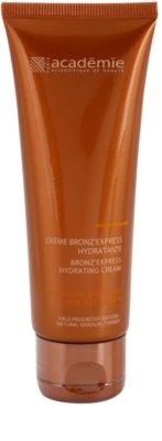 Academie Bronz' Express önbarnító arckrém hidratáló hatással