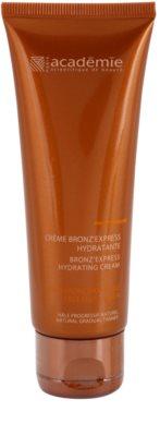 Academie Bronz' Express крем автозасмага для обличчя зі зволожуючим ефектом