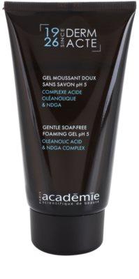 Academie Derm Acte Brillance&Imperfection gel limpiador suave para cerrar los poros y matificar la piel