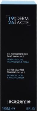 Academie Derm Acte Brillance&Imperfection sanftes Reinigungsgel für das Verfeinern der Poren und ein mattes Aussehen der Haut 2