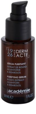 Academie Derm Acte Brillance&Imperfection kojące serum przeciw zaczerwienieniom skóry