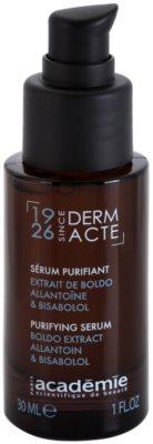 Academie Derm Acte Brillance&Imperfection sérum apaziguador contra vermelhidão de pele