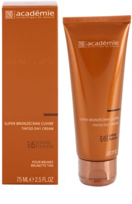 Academie Bronzécran tonizáló arckrém SPF 6 1