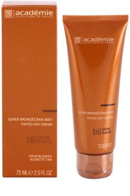 Academie Bronzécran crema con color matificante SPF 6 1
