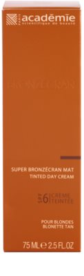 Academie Bronzécran crema con color matificante SPF 6 2
