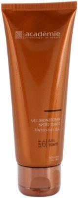 Academie Bronzécran tónovací gel na obličej SPF 6