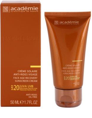 Academie Bronzécran krema za sončenje proti staranju kože SPF 20 1