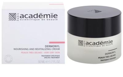 Academie Dry Skin crema revitalizante nutritiva 1