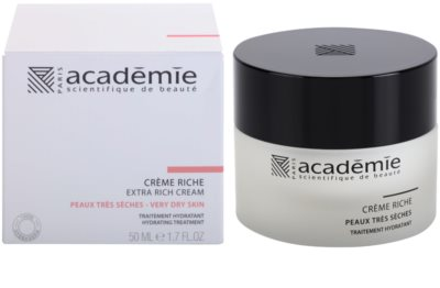 Academie Dry Skin crema hidratante rica 1
