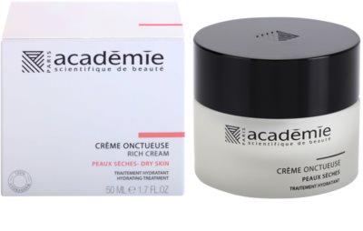 Academie Dry Skin crema enriquecida con efecto humectante 1